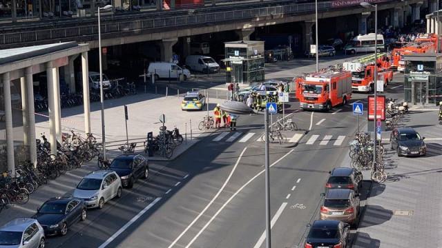 Polícia liberta refém em estação de trem de Colônia