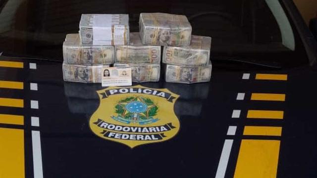Boliviana passa mal em ônibus e é presa com quase 800 mil dólares