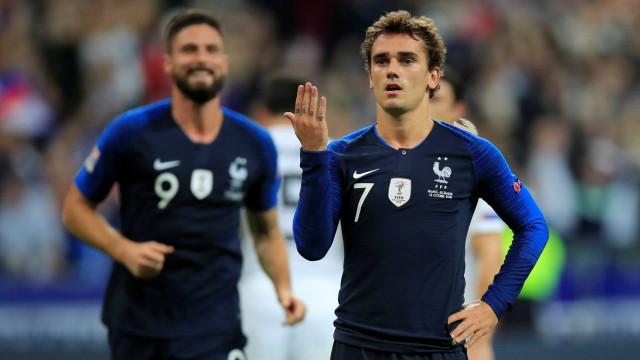 Com dois de Griezmann, França vence Alemanha na Liga das Nações
