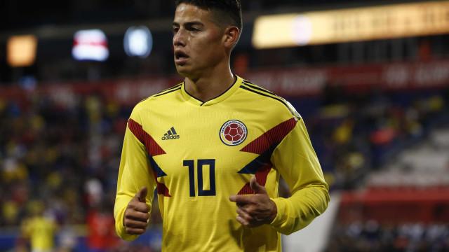 Com grande atuação de James Rodríguez, Colômbia bate a Costa Rica