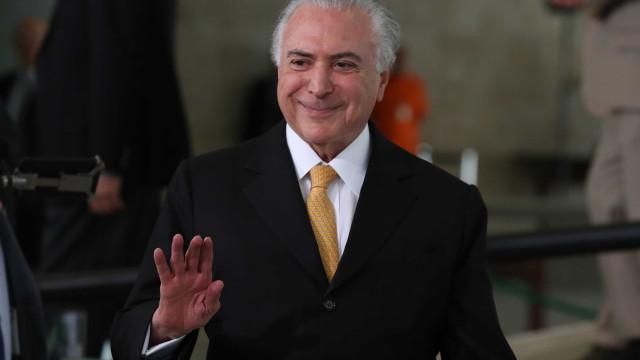 Temer afirma que seu governo tirou o Brasil da crise