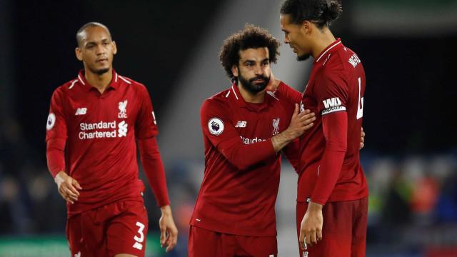 Salah marca, Liverpool vence e volta à vice-liderança do Inglês