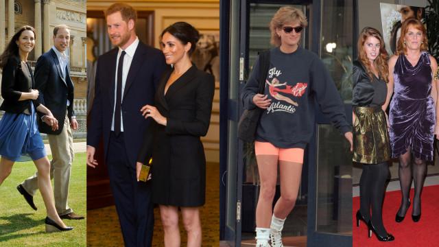 Pernas de fora: a realeza também usa looks curtos