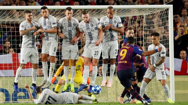 Barça bate Inter de Milão e fica perto de avançar na Champions