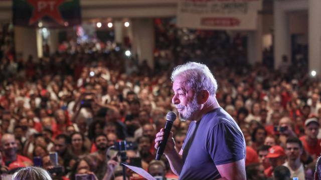 Em recado dado por interlocutor, Lula pede 'reorganização' a militantes