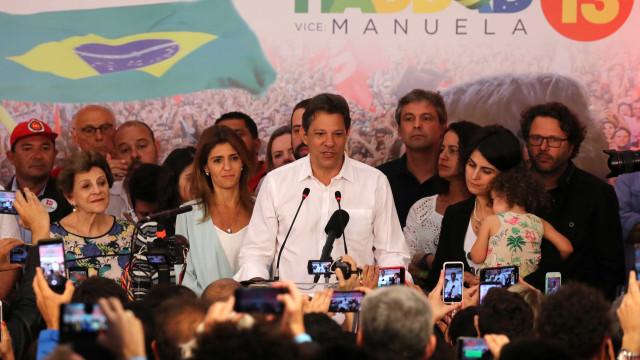 Derrotado, Haddad declara gasto 15 vezes maior que Bolsonaro