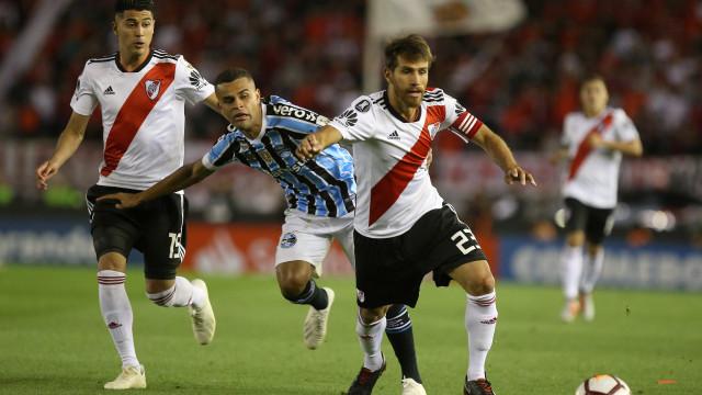 Grêmio enfrenta River Plate em jogo de volta pela Libertadores