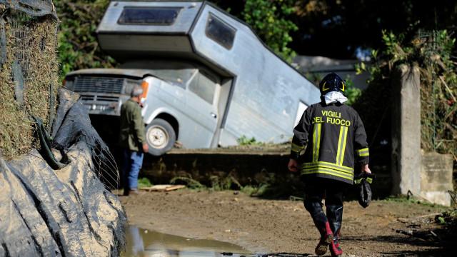 Chuvas fortes deixam ao menos 29 mortos na Itália