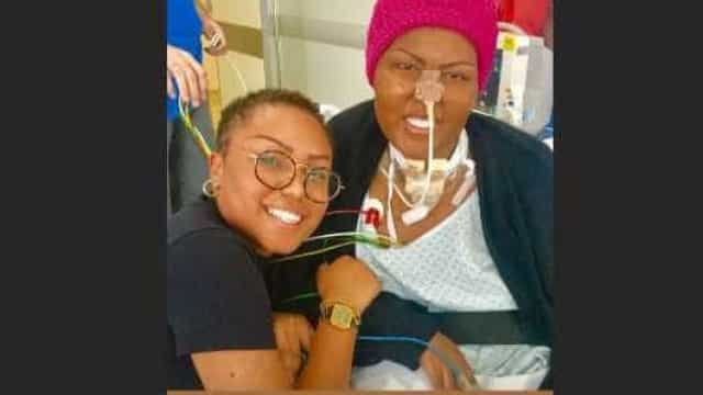 Com câncer, cantora do Fat Family comemora aniversário no hospital