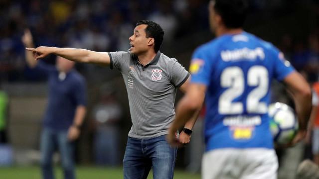 'Não tem chance de o Corinthians cair', diz Jair Ventura após derrota