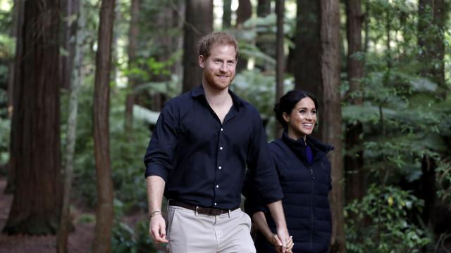 Bebê de Meghan e Harry pode ter nome incomum