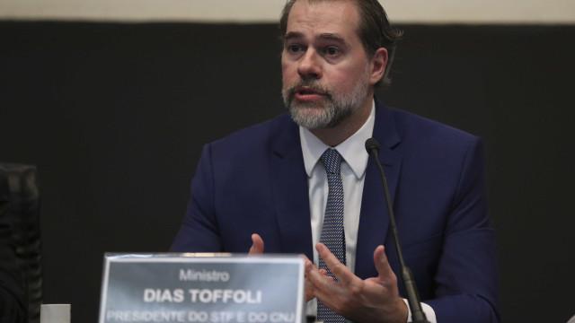 'Agora poderemos enfrentar auxílio-moradia', diz Toffoli após reajuste