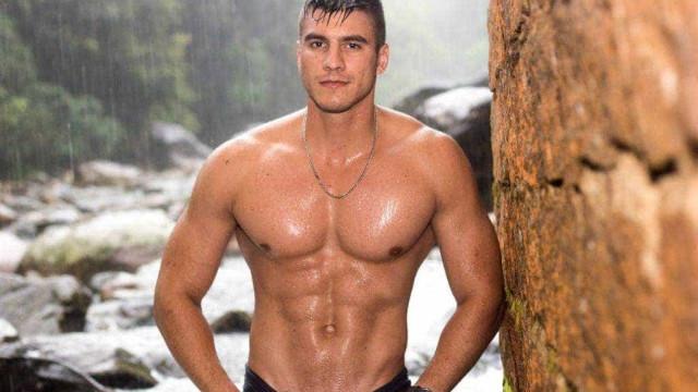Policial brasileiro disputa título de homem mais belo do mundo