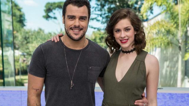 Joaquim Lopes anuncia volta ao 'Vídeo Show' ao lado de Sophia Abrahão