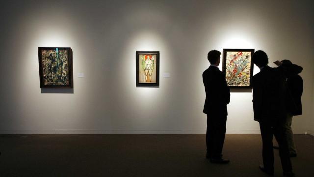 Casa de leilões prevê vender tela de Pollock do MAM por US$ 18 milhões