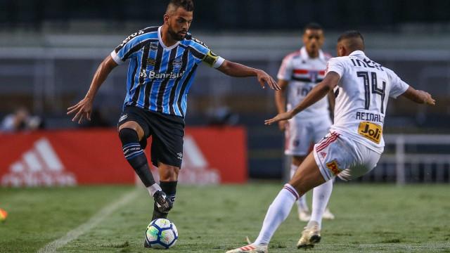 São Paulo e Grêmio empatam no Morumbi