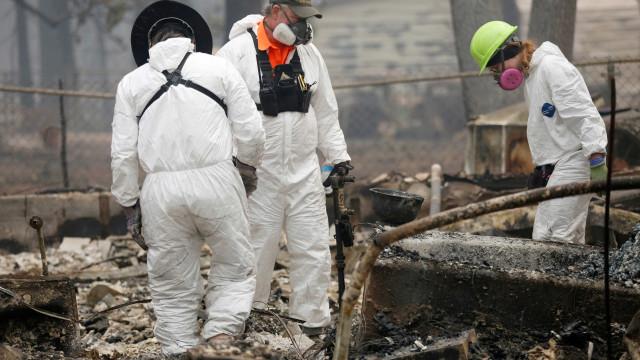 Número de desaparecidos em incêndio na Califórnia passa de 300