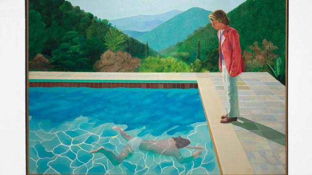 Ex-amante nega ter sido inspiração de quadro de Hockney