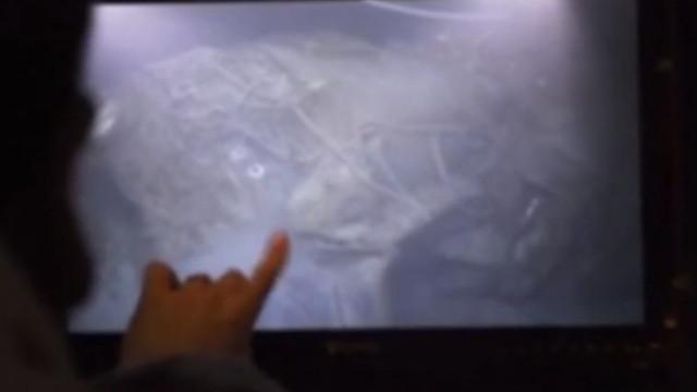 Confira as imagens do submarino argentino encontrado no fundo do oceano