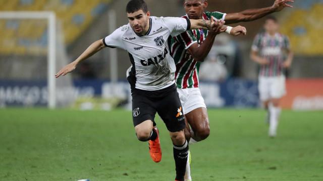Fluminense e Ceará empatam no Maracanã e continuam ameaçados