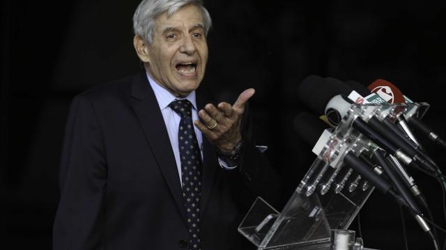 Augusto Heleno: escolha de ministros não se deve a acordo partidário