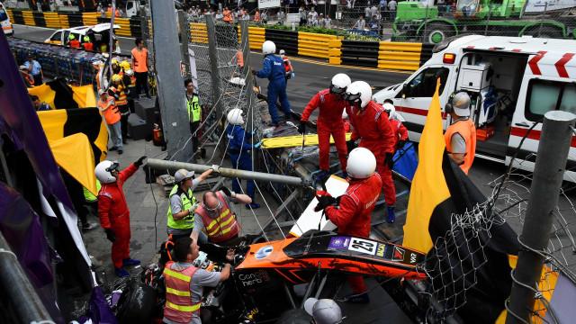 Automobilismo: FIA usa acidentes como o da F-3 para melhorar segurança