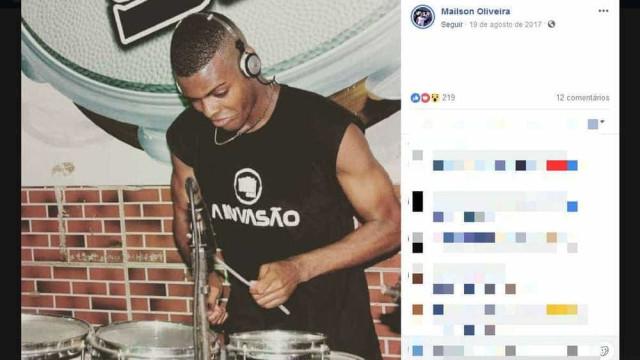 Percussionista de banda de pagode é assassinado na BA; show é cancelado