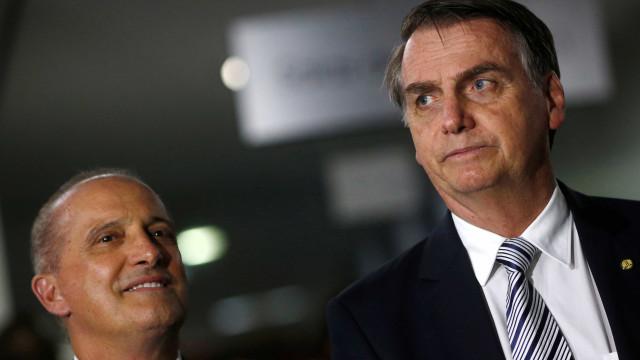 Bolsonaro sobre Onyx: 'Não daria conta do recado'