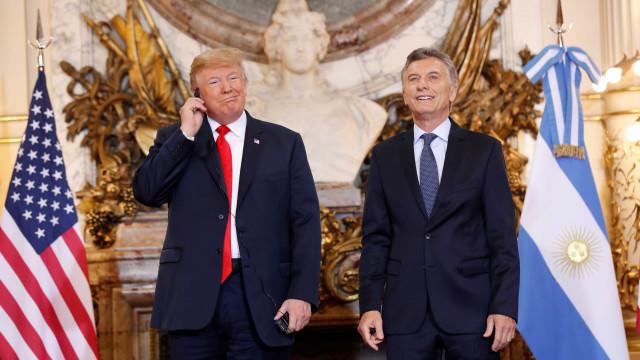 No G-20, Trump e Macri prometem conversar sobre comércio e negócios