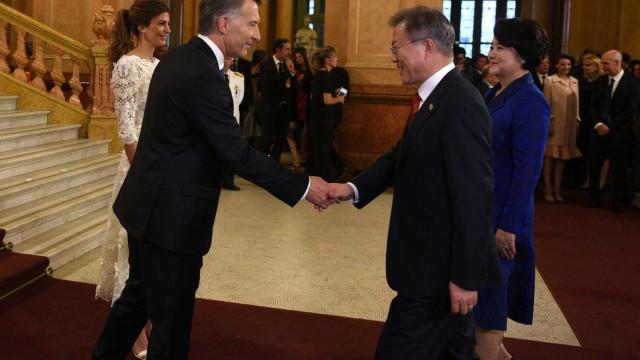 No último dia do G20, Argentina passa comando do grupo para o Japão