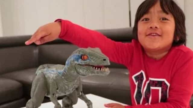 Ryan, de 7 anos, ganha R$ 84 mi e é o youtuber mais bem pago de 2018