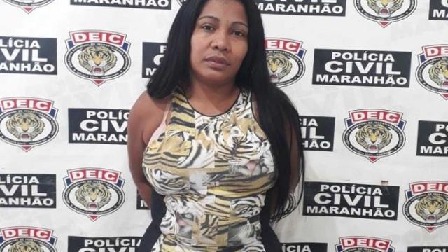 Após morte do marido, mulher se torna chefe de facção e é presa no MA