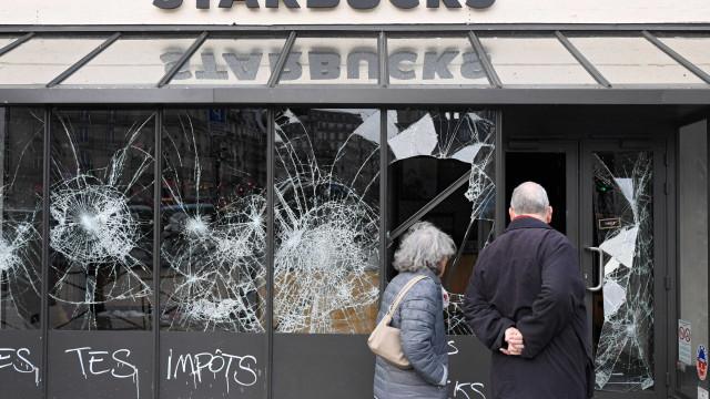 Protestos na França têm 1.723 detidos e 96 feridos apenas em Paris