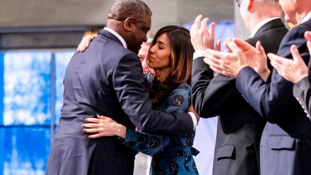 Vencedores do Nobel da Paz pedem justiça contra abusos sexuais