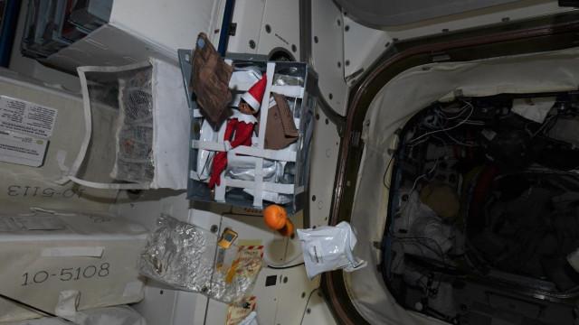 Estação Espacial recebe novo 'passageiro' antes do Natal