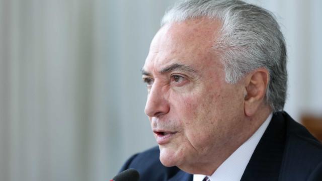 Temer diz ter ficado 'profundamente abalado' com tiroteio em Campinas