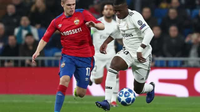 Real Madrid passa vergonha diante do CSKA no Santiago Bernabéu