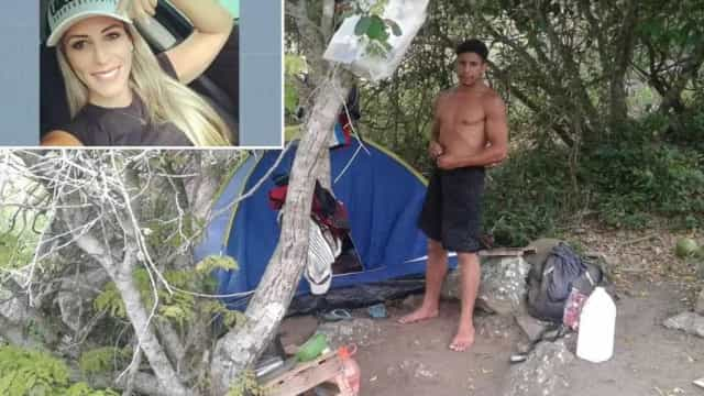 Foto mostra suspeito de matar turista em trilha onde corpo foi achado
