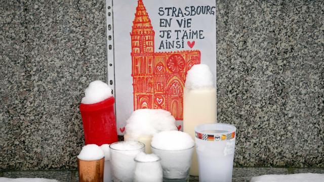Vítimas de ataque em Estrasburgo são homenageadas