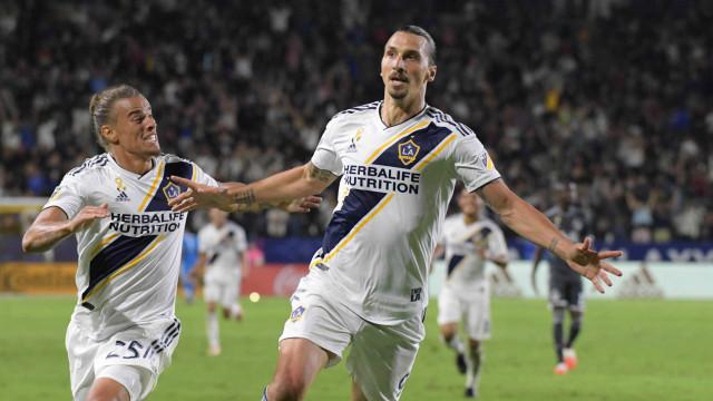 Ibrahimovic confirma que seguirá no Los Angeles Galaxy