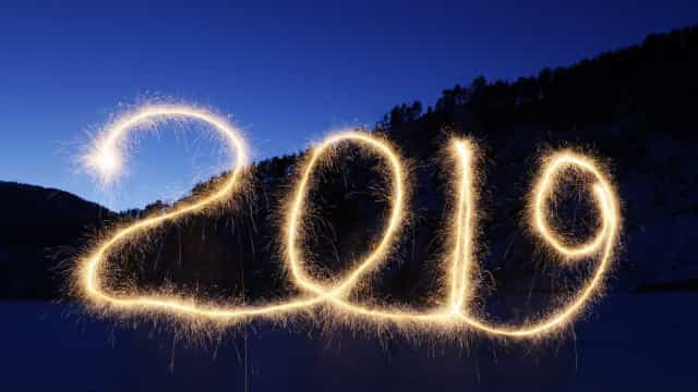 Veja imagens das primeiras comemorações do Ano Novo