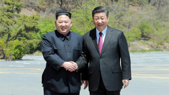 Norte-coreano Kim Jong-un inicia visita oficial à China