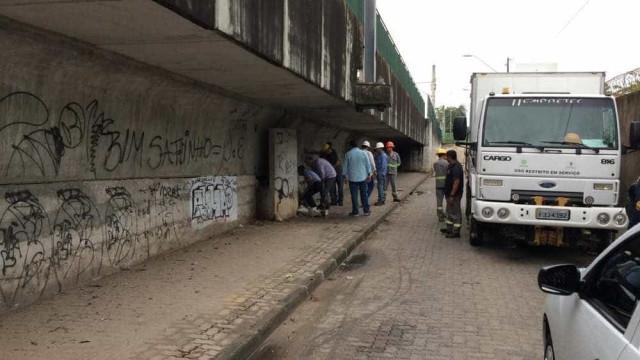 Viaduto é alvo de bomba em 9º dia de ataques em Fortaleza