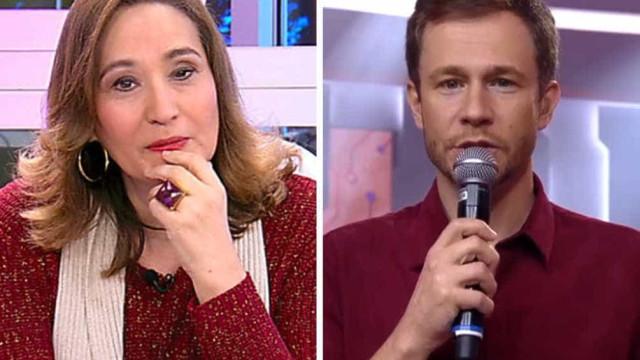 Na estreia do BBB19, Leifert manda presente inusitado para Sonia Abrão