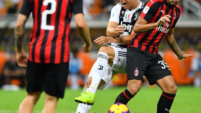 Juventus vence o Milan e é campeão da Supercopa da Itália