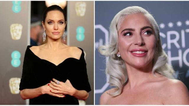 Angelina Jolie e Lady Gaga disputam papel de Cleópatra, diz site