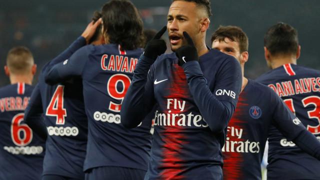 PSG humilha o Guingamp pelo Campeonato Francês: 9 a 0
