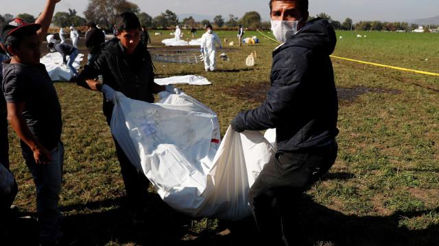 Passa de 70 número de mortos em explosão de oleoduto no México