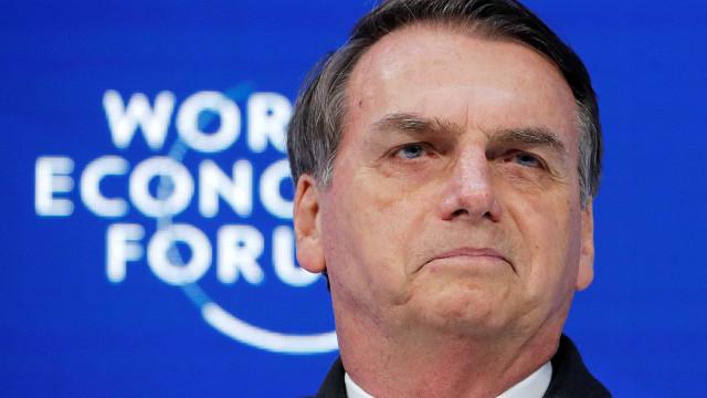 Somos o país que mais preserva o meio ambiente, diz Bolsonaro em Davos