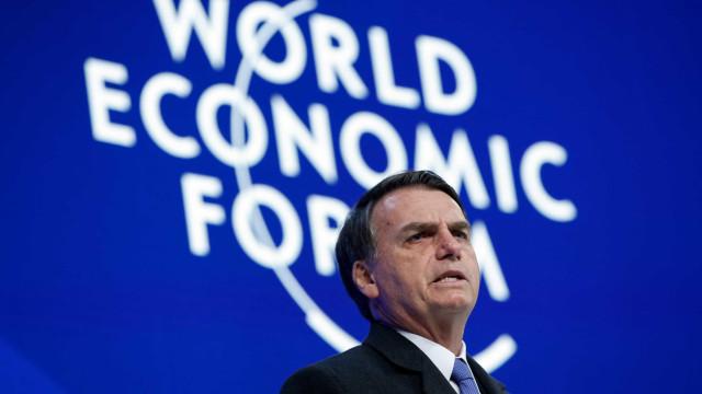 Analistas de mercado acharam raso discurso de Bolsonaro em Davos
